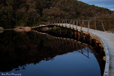 tidal bridge by rollingphotographer