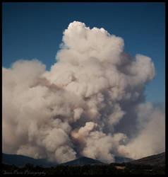 bushfires 09.. II by rollingphotographer