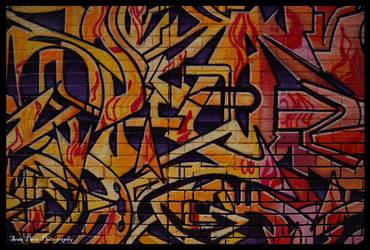 Melbourne graffiti.  1 by rollingphotographer
