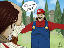 Super Uncle Mario by Koriiko-chan