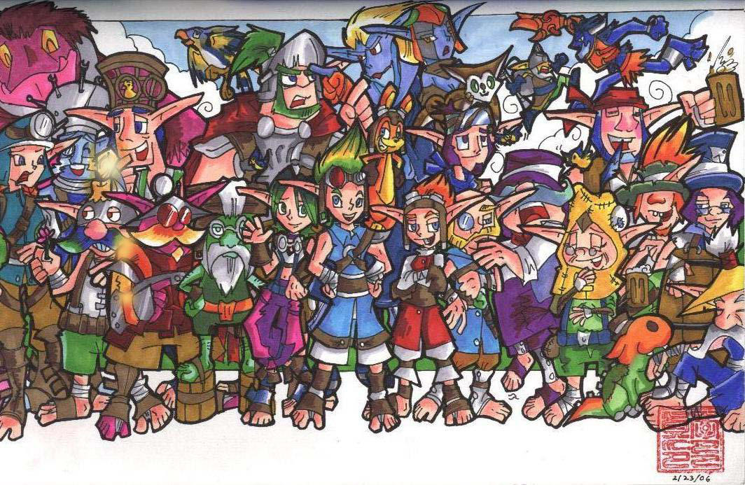 +The Original Jak And Daxter+ By Neoyi On DeviantArt