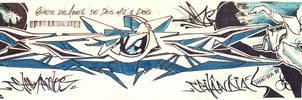 Sketch Graffiti by Wagnr