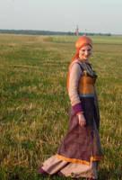 Viking lady by Antalika