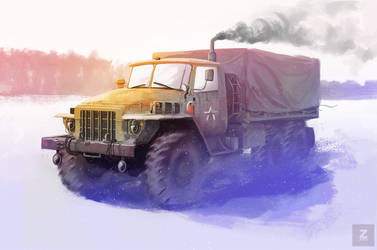 Ural truck by Zirkon777