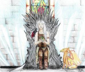 Daenerys Targaryen by LedyPotter97