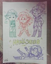 Hamilsquad! by AguuaryXD