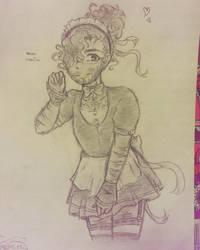 Maid Lafayette by AguuaryXD