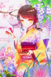 My dream garden by Yukiko0227