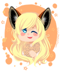 foxy ears chibi commission for DannaSukaira by OperaHouseGhost