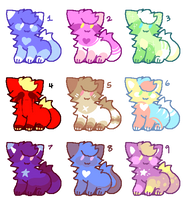 Kitty Adopts batch 3 [5/9 OPEN] by OperaHouseGhost
