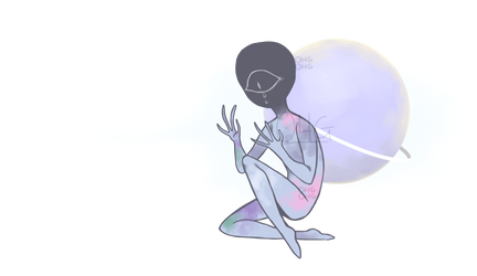 sad alien.png by OperaHouseGhost