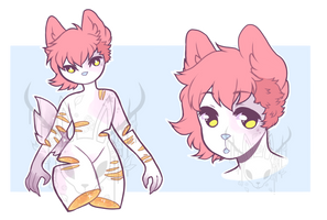 Pastel Gore - Anthro Adopt Auction [re-uploaded] by OperaHouseGhost