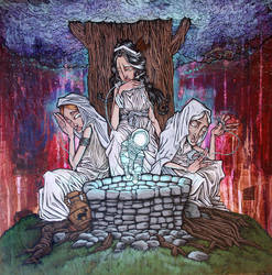 The Three Norns by humangarbage