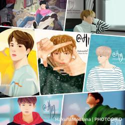 Spring Day Series BTS by JadeLife