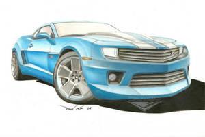 Chevrolet Camaro Z28 Concept by SeawolfPaul