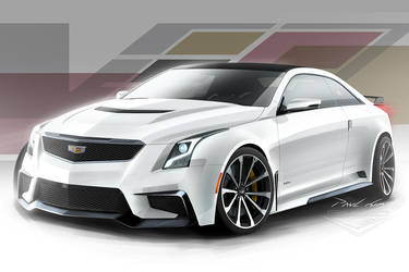 Cadillac Super ATS-V 001 by SeawolfPaul