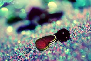 Little shiny heart by KHALID-ART