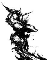 DarkHawk Perch by TimKelly