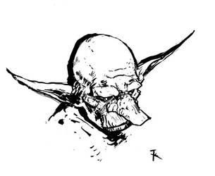 Goblin sketch by TimKelly