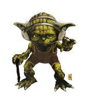 Yoda: Jedi Wrestling by TimKelly