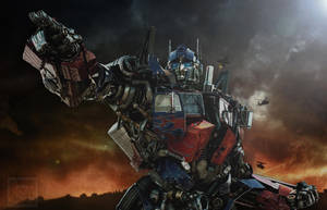 We will take the Battle to them - Optimus Prime by Elita-One-Arts