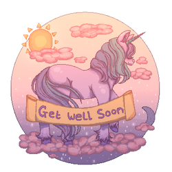 Pixel Unicorn by Desolv
