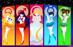Sailor Scouts by jurieduty