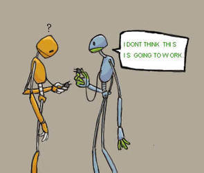 we're going to need an adapter by robot-fixation-front