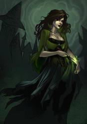 Bellatrix Lestrange by JessiBeans