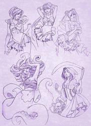 Sketchy McSketcherton by JessiBeans