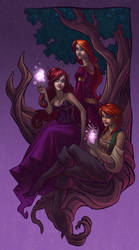 Fairy Tree by JessiBeans