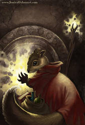 The Squirrel Mage by JessiBeans