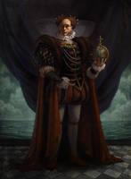 King Elizabeth by JessiBeans