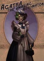 Agatha the Amazing Automaton by JessiBeans