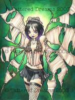 Strange Fairies: Green by JessiBeans
