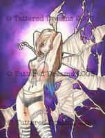 Strange Fairies: Purple by JessiBeans