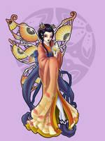 Strange Fairies Geisha: Summer by JessiBeans