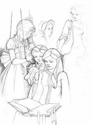 Children's Illustration Doodle by JessiBeans