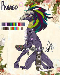 CLOSED Character for SALE-Rkambo The Witch-Doctor by Xstillwatersrundeep