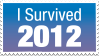 I survived 2012 stamp by chi-u