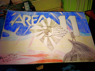 Area 11 - All The Lights In The Sky Fan Art by AmazingN