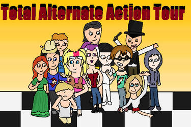 Total Alternate Action Tour: New Characters by agreenparrot