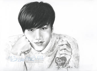 Be Mine, Jongin by FallThruStardust