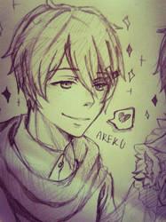 HB : C H U's oc : Areku by shootingstarsgrazing