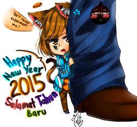 :::Happy New Year 2015~!::: by shootingstarsgrazing