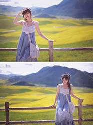 Country girl look by ASilverVow