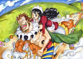 Sai and Baby 5 by PrincessPokemon
