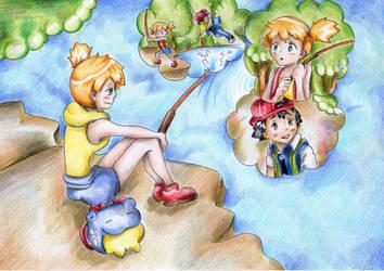 Pokeshipping Day 6: Memories by PrincessPokemon