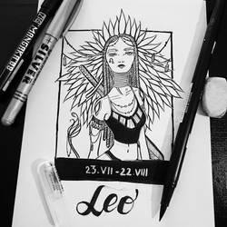 Leo by Avvyraptor