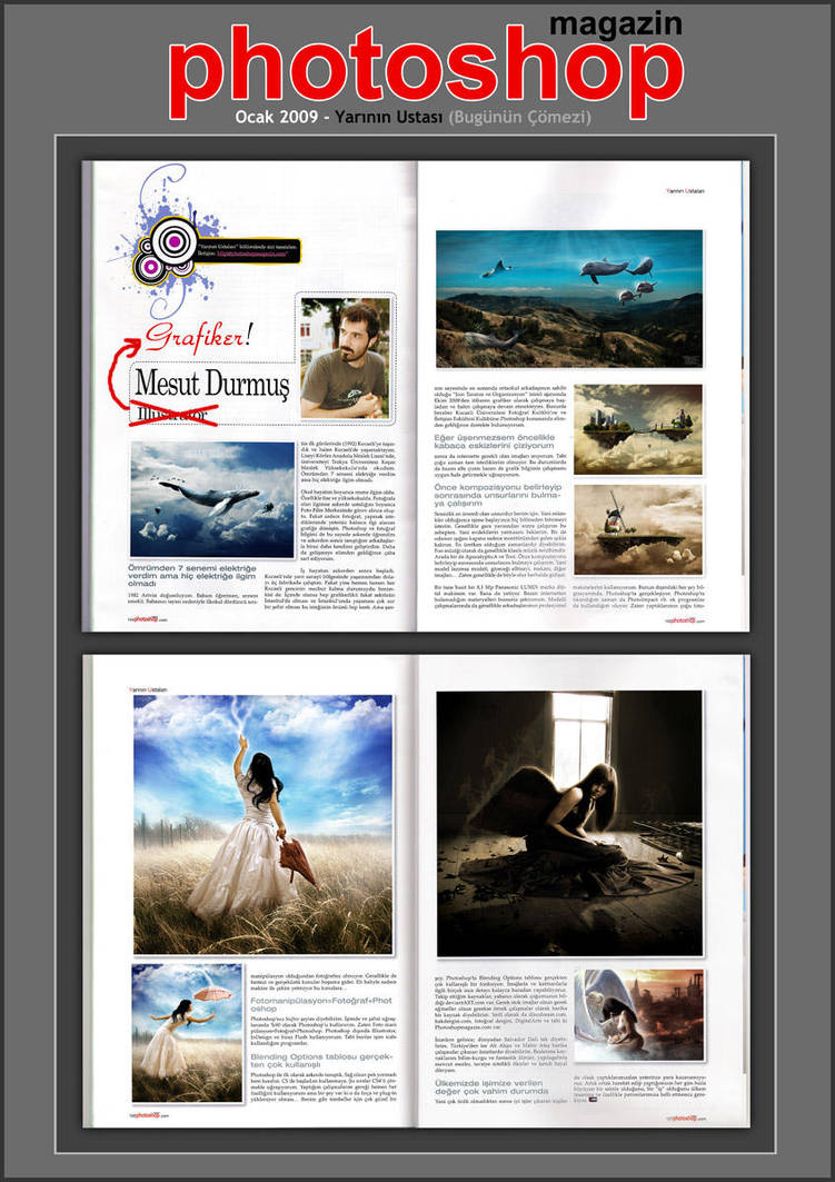 I on the PS Magazine by NeaN